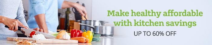 Up to 60% off Kitchen Supplies