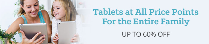 Up to 60% off Tablets