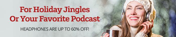 Shop Headphones up to 60% Off!
