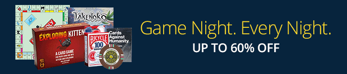 Game NIght. Every Night - Up to 60% off Games