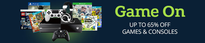 Up to 65% off Video Games & Consoles