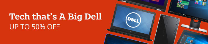 Dell Tech up to 50% Off