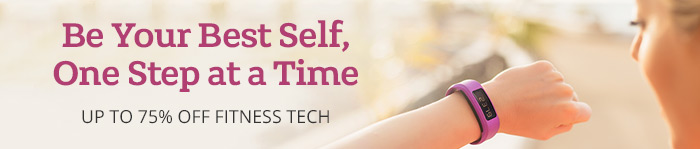 Save up to 75% on Fitness Tech