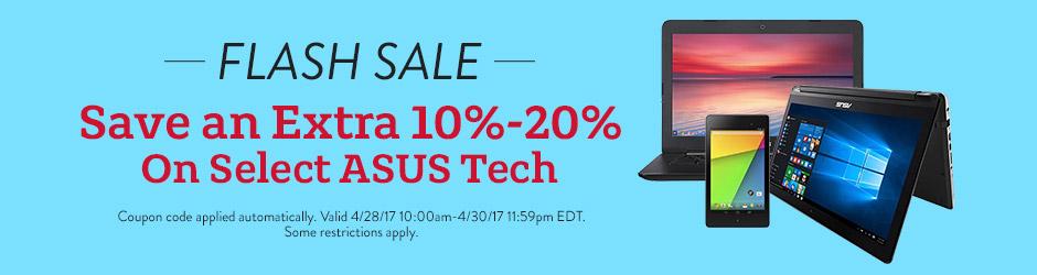 Flash Sale on ASUS Tech