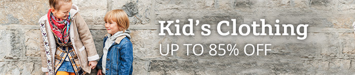 Up to 85% off Kids Clothing