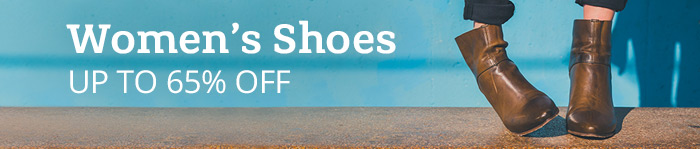 Up to 65% off Women's Shoes