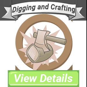 Digging and Crafting