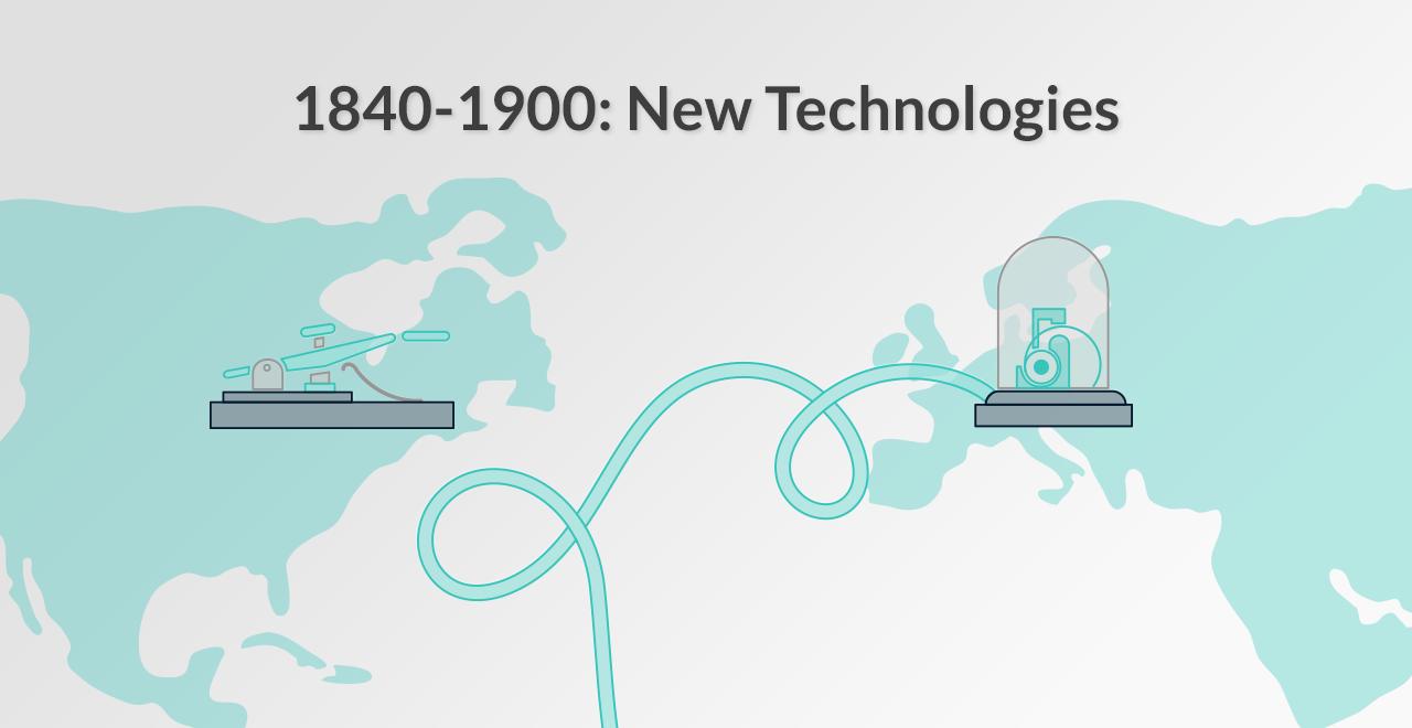1840-1900: Communication Technologies