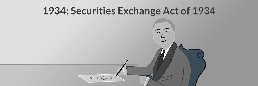 1934: The Securities Exchange Act