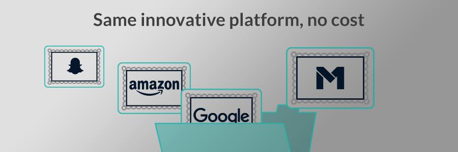 Same Innovative Platform, No Cost