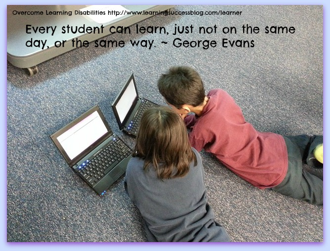 Every student can learn. Just not on the same day, or the ...