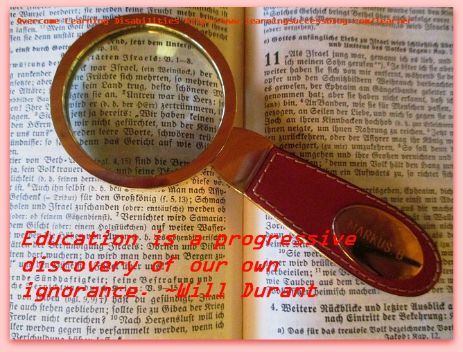 Education Is A Progressive Discovery Of Our Own Ignorance Will Durant
