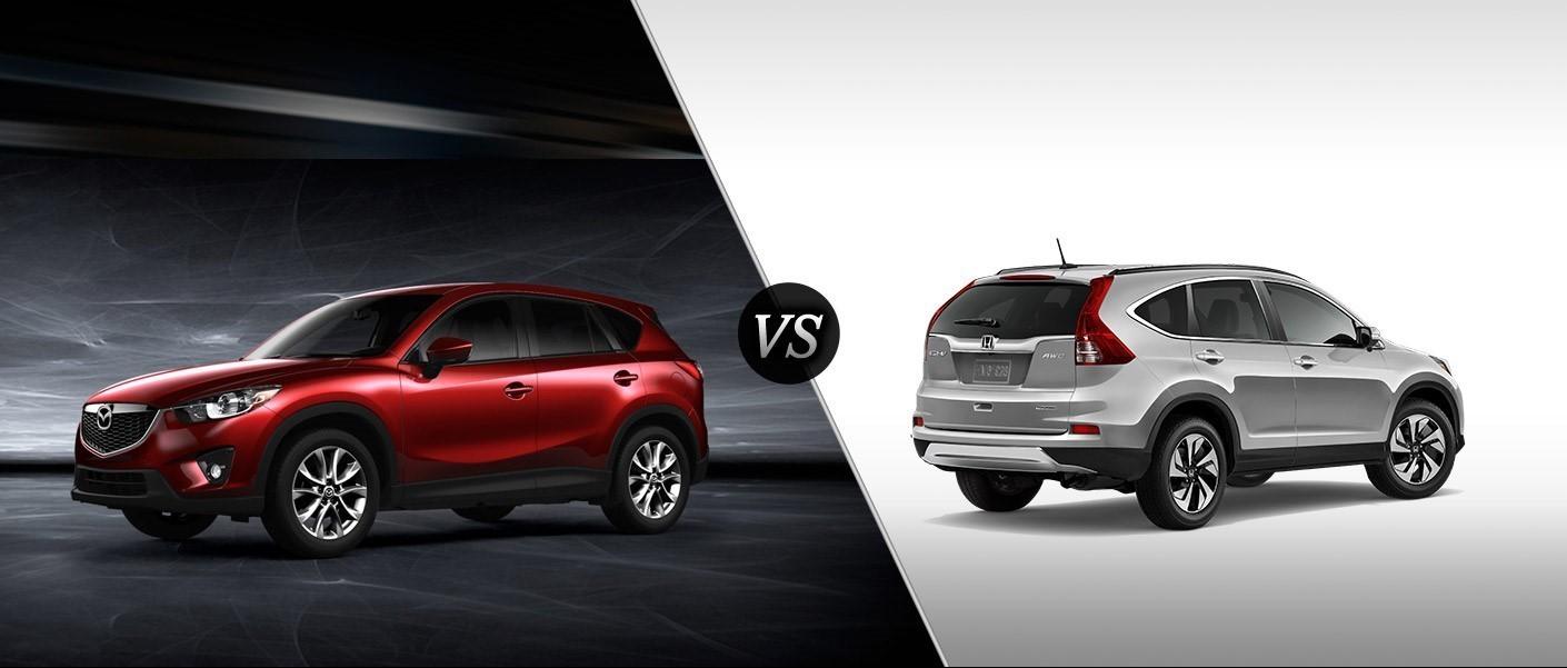 Mazda CX5 vs Honda CRV in Courtenay BC  Courtenay Mazda