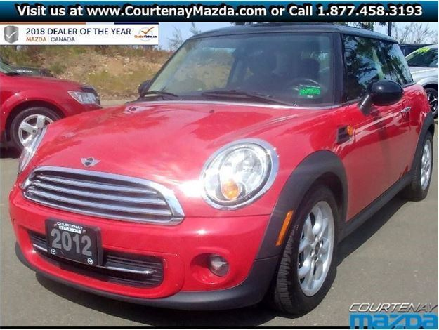 2012 Mini Cooper For Sale In Courtenay Vancouver Island Used Cars