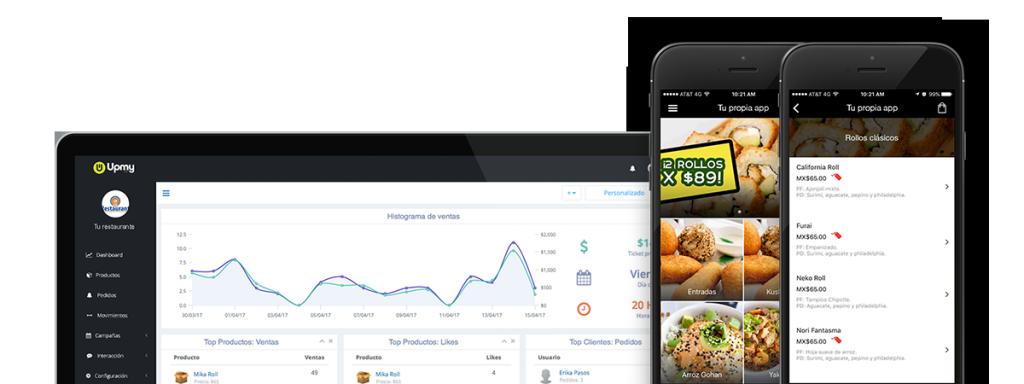 Mi propia app para restaurante vs sindelantal