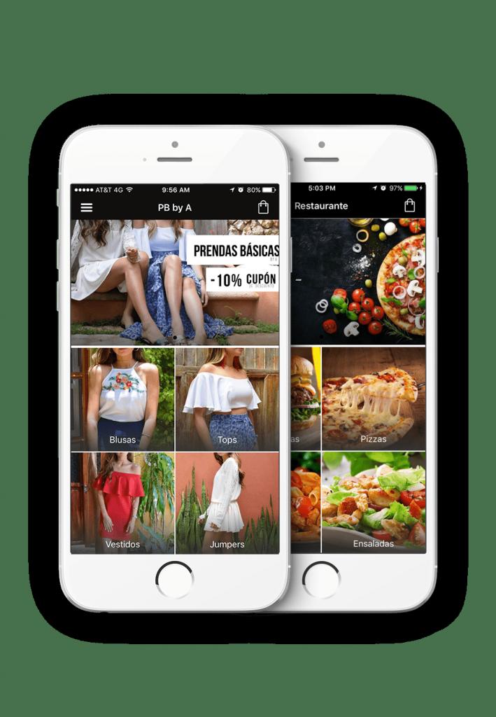 app y tienda online