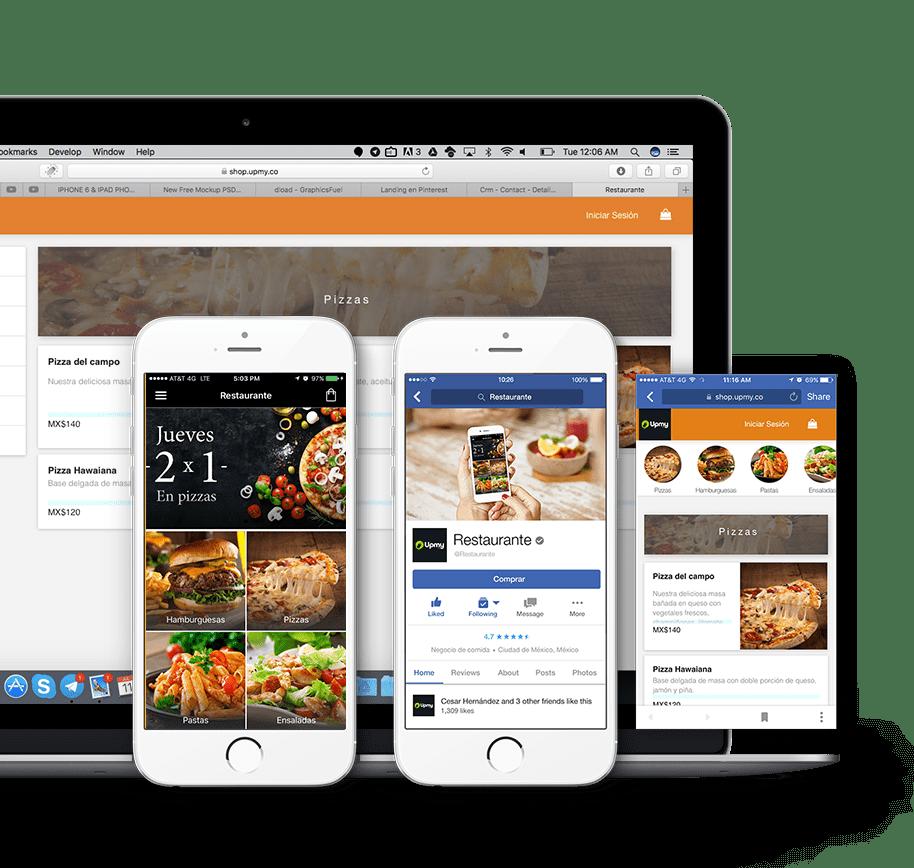 app para restaurantes y pedido online