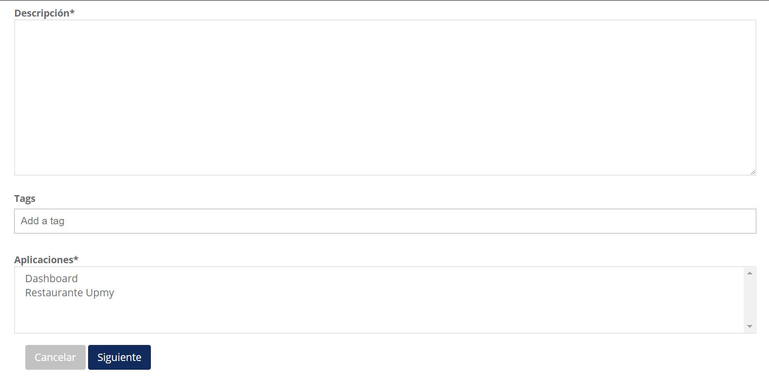 Cómo publicar un evento en mi app