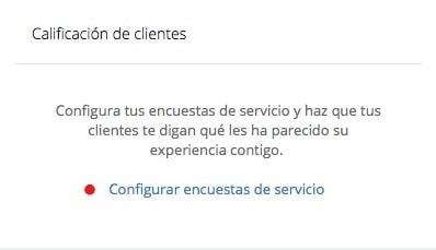 las encuestas de servicio