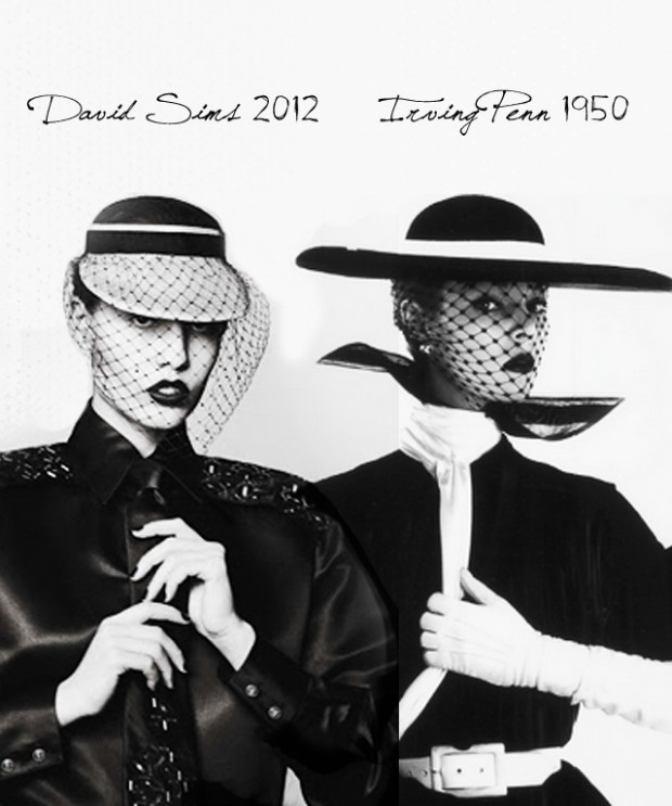 David Sims vs Irving Penn