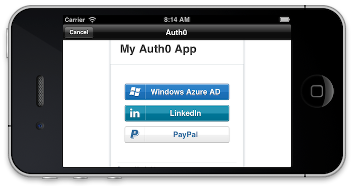Mobile Authentication with Windows Azure AD