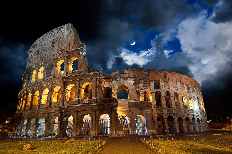 El Coliseo, uno de los íconos emblemáticos de Roma, es el monumento más visitado de la capital italiana