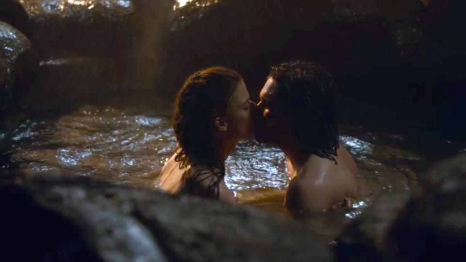 La consumación del amor entre Ygritte y Jon Snow, una de las escenas más esperadas de Game of Thrones