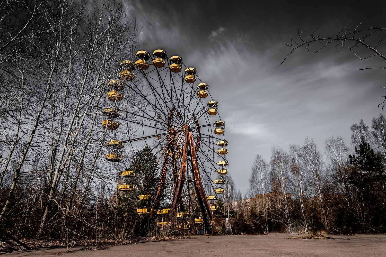 La ciudad fantasma de Pripyat es una de las más visitadas en los tours de Tanatoturismo por Chernóbil