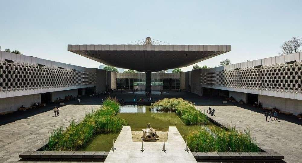 El Museo Nacional de Antropología de la ciudad de México es uno de los más grandes de América Latina