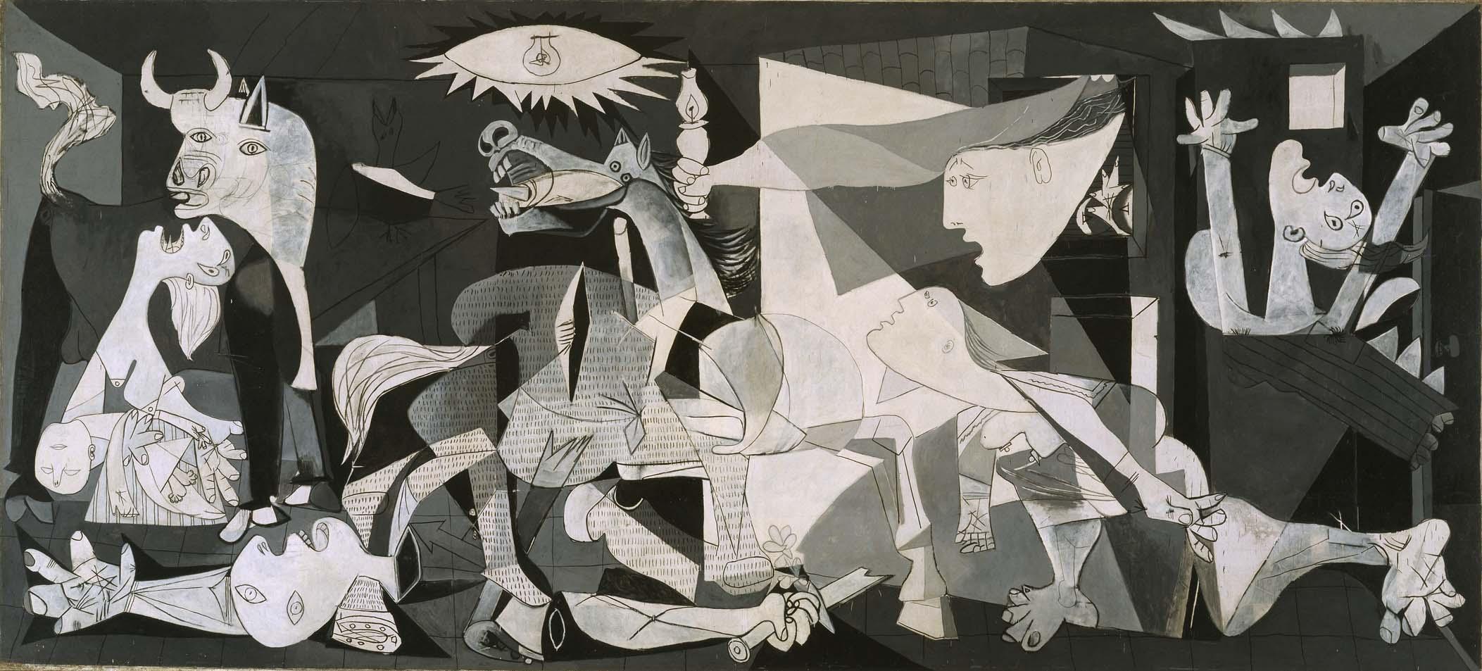 El Guernica es la obra más reconocida de Pablo Picasso y sus significaciones aún siguen vigentes