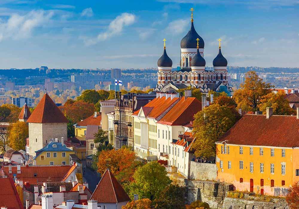Foto de Tallin, la capital de Estonia, uno de los países bálticos que estarán dentro de la burbuja de viaje