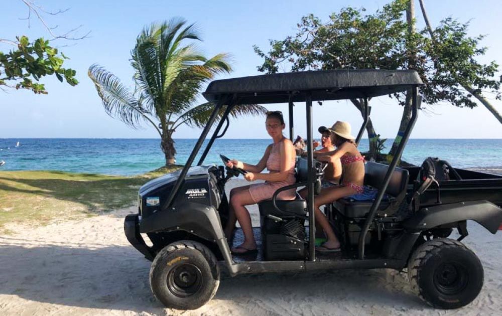 Una de las mejores opciones para moverse en la Isla de San Andrés es alquilar una mula