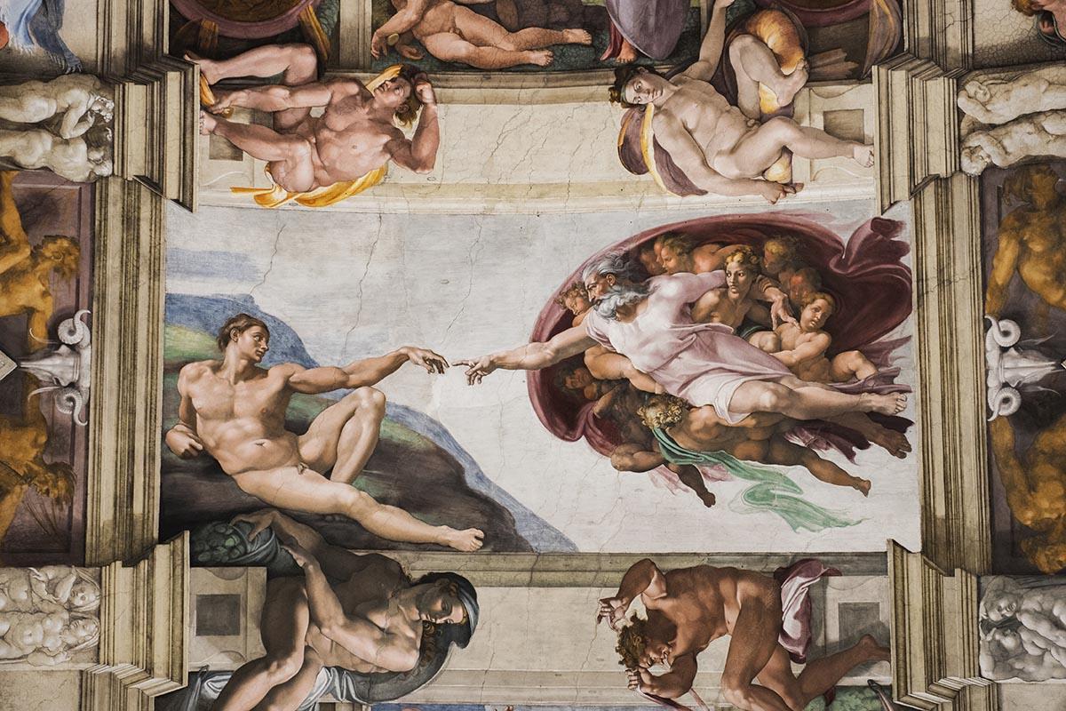 Además del Coliseo, también reabrieron sus puertas los Museos Vaticanos con las mismas medidas preventivas