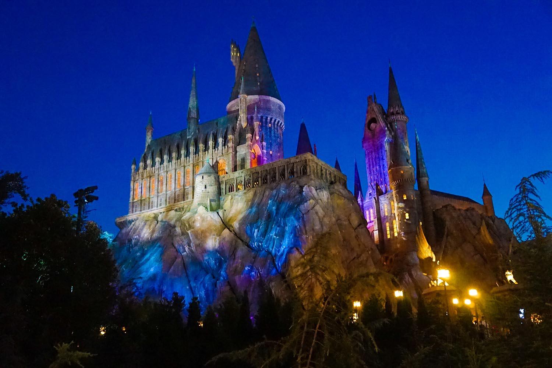 El castillo de Harry Potter es una de las máximas atracciones en Universal Orlando