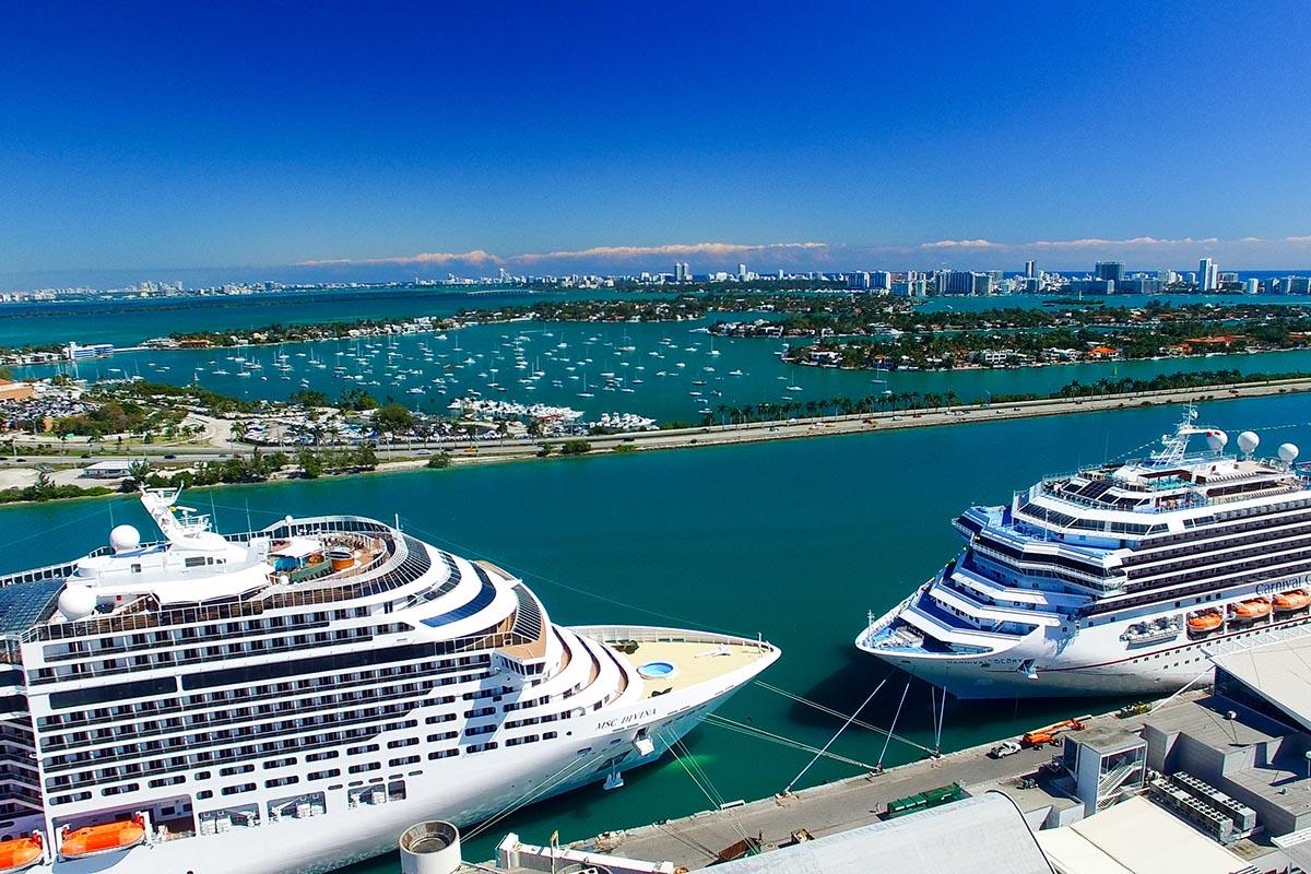 Curiosidades de Miami - es el puerto que recibe más cruceros del mundo