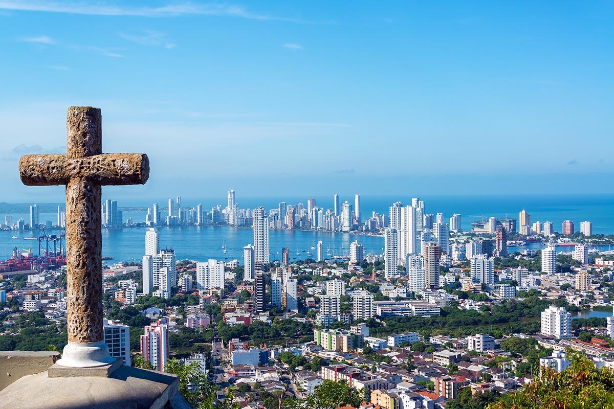 Los lugares para visitar en Cartagena: Cerro de la Popa