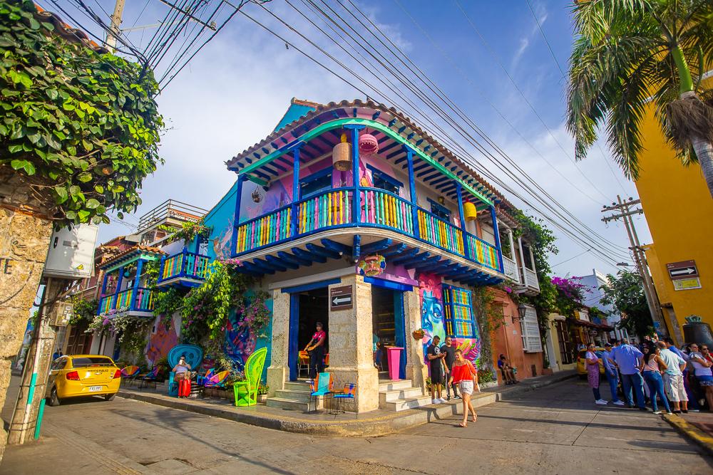 Los lugares para visitar en Cartagena - Barrio Getsemaní