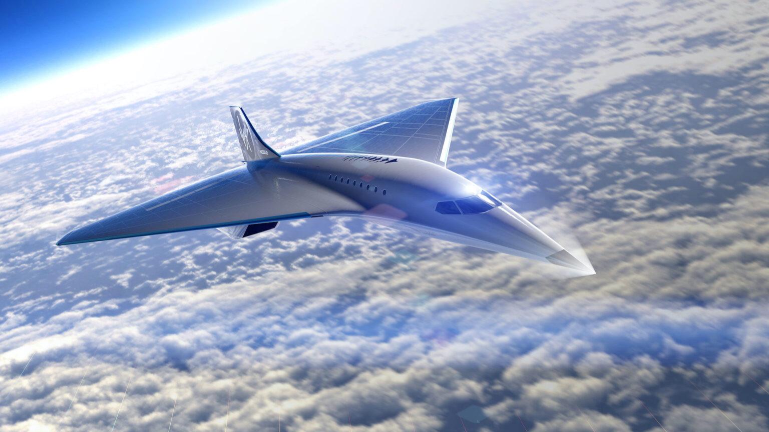 El nuevo avión supersónico