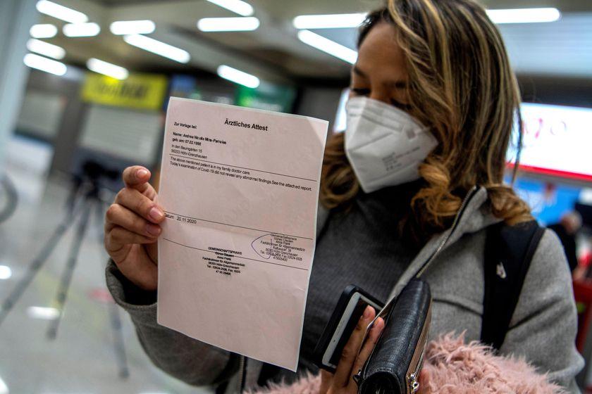 El PCR negativo será requisito para ingresar a Estados Unidos a partir del 26/1