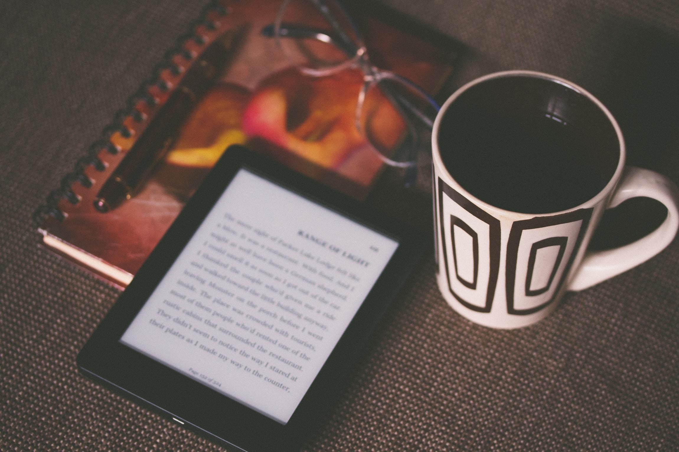 Reading an ebook