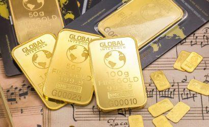 الذهب يرتفع من جديد ويستكمل الاتجاه الصاعد مرة اخرى.