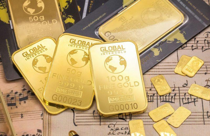 أسعار الذهب تهبط مرة اخرى دون مستوى 1700دولار.