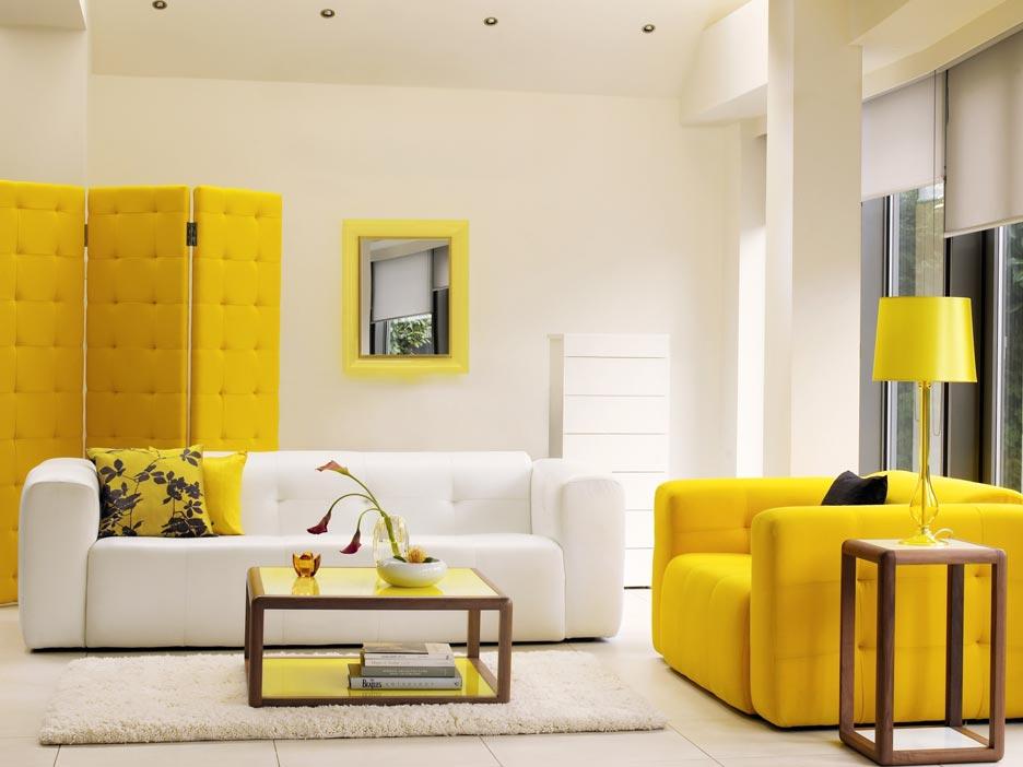 amarelo decoracao