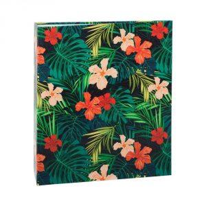 Álbum de Fotos Tropical Hibiscos