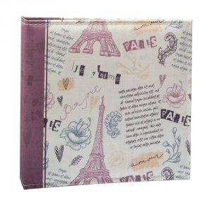 Álbum de Fotos Retrô Paris