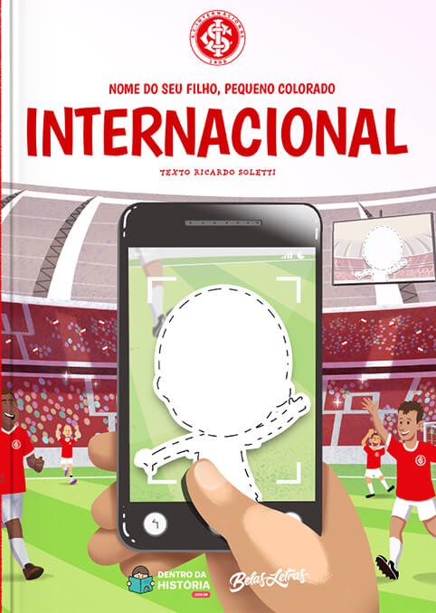 Internacional de Porto Alegre - Livro Infantil Personalizado