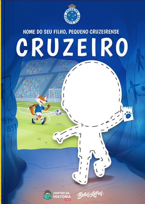 Cruzeiro - Meu Pequeno Cruzeirense - Livro Infantil Personalizado