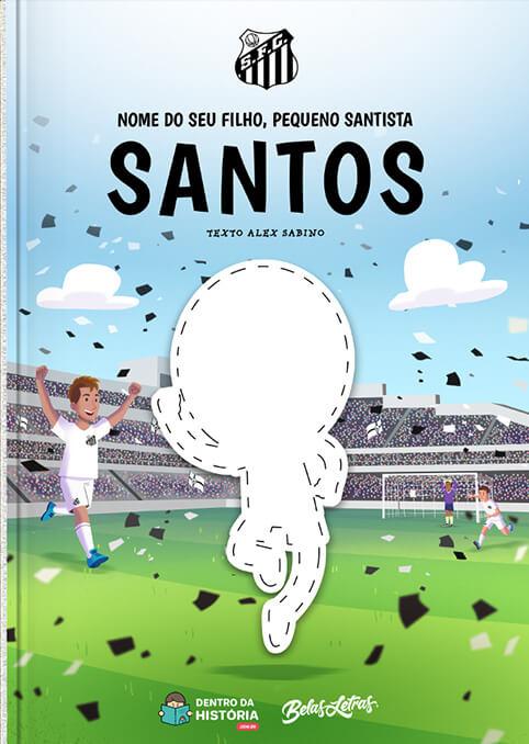 Santos - Meu Pequeno Santista - Livro Infantil Personalizado