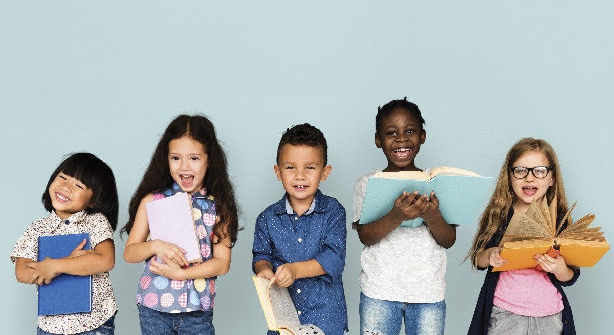 livro para crianças de diferentes idades