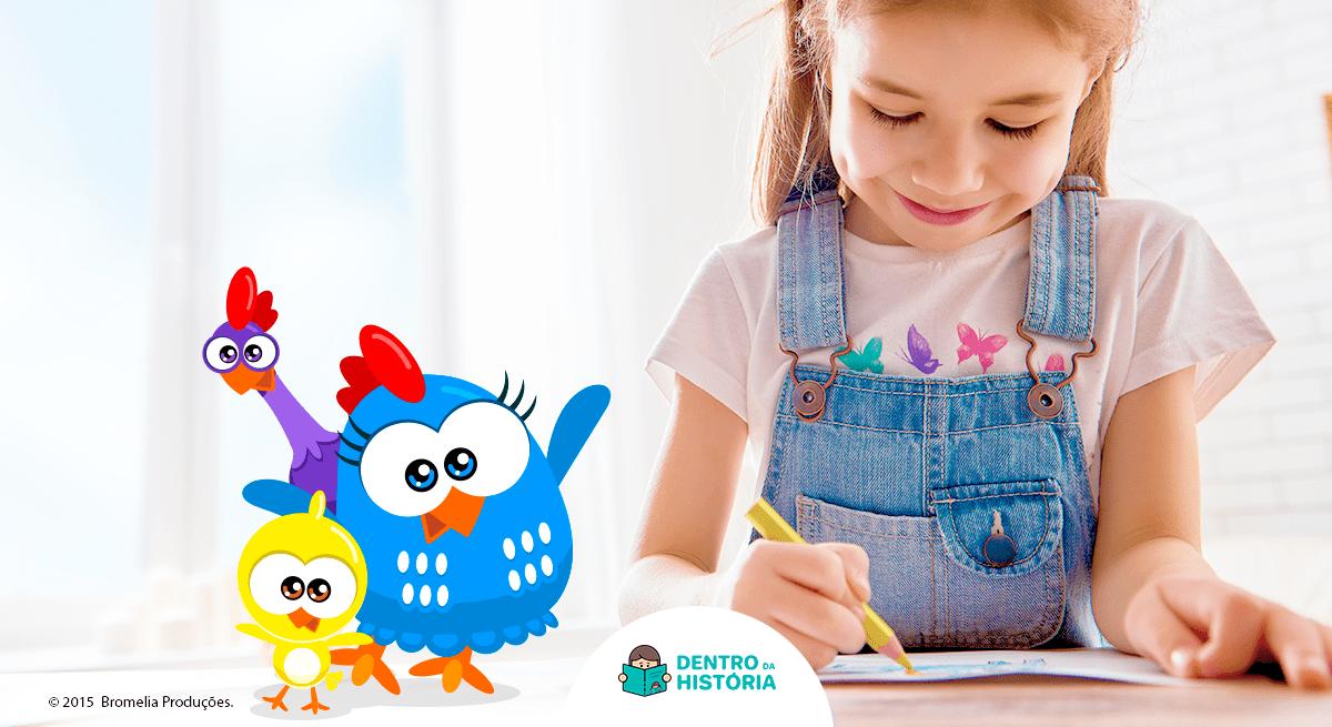 desenho para colorir da galinha pintadinha
